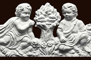 zwienczenie-z-aniolkami-biel