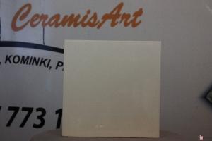Kafel półkowy gładki KWADRAT krem 20x20 cm