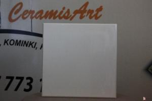 Kafel TAFLA środkowy biały 22x22 cm