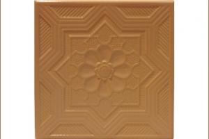 Kafel KORONKA środkowy brzoskwinia 22x22 cm