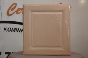 Kafel środkowy KASZA o wymiarach 20x22cm w kolorze róż