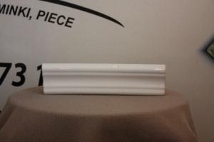 Gzyms środkowy o wymiarach 22x6cm w kolorze białym