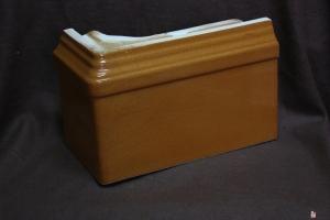 Cokół narożny rudy 22x15x11 cm
