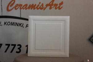 Kafel KWADRAT środkowy biel 20x20 cm
