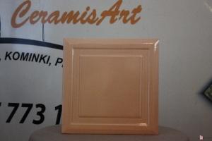 Kafel KWADRAT środkowy brzoskwinia 20x20 cm