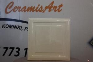 Kafel KWADRAT środkowy krem 20x20 cm