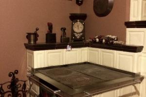 Płyty żeliwne części roboczej kuchni kaflowej